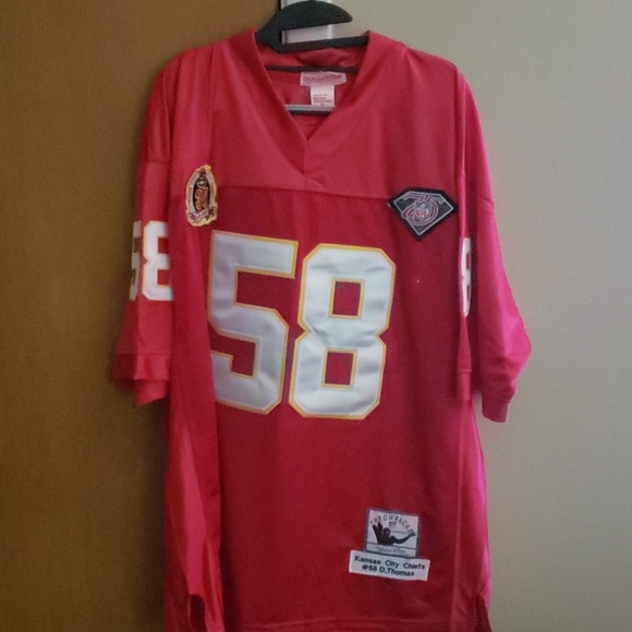 buy online fe5f7 fca84 NFL Mitchell & Ness Chiefs D. Thomas Jersey